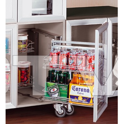 Soft Close Magic Corner - Pull Out Storage System