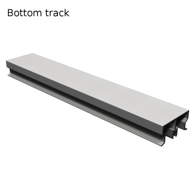 OVERLINE - TRACKS -  Wardrobe Sliding Door Track Gear System
