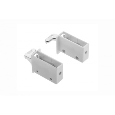 Pair of Kitchen wall cabinet mounting brackets
