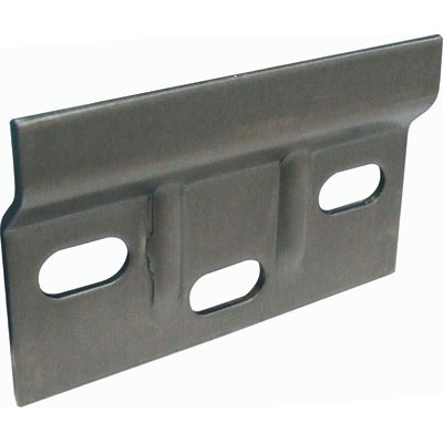 Cabinet hanger wall plate 63x38mm