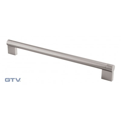 Cabinet bar handle 320mm - brushed steel