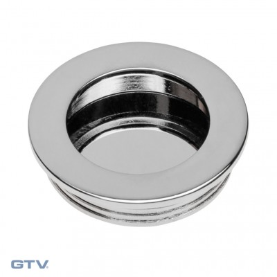 Recessed Flush Sliding Door Handle, Insert Circular / Round Handle