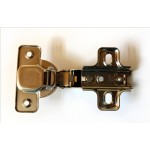 Self opening kitchen cabinet hinge 35mm - Inset