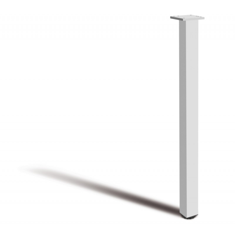 Square Adjustable Table Leg dia.46mm - 710mm / 820mm