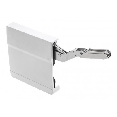 Soft Close hinges Lift-Up support system for kitchen cupboards cabinets - WHITE