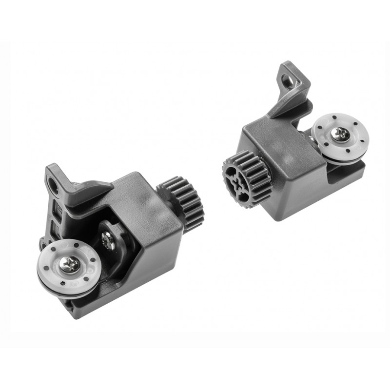 Stabilizing rollers for push to open GTV Modern Box drawer system