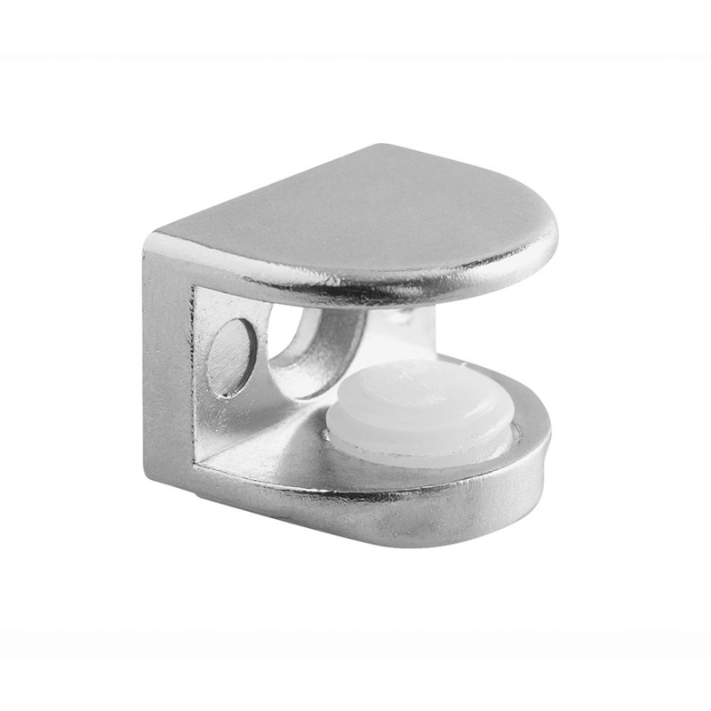 Glass shelf support bracket for panels 5 - 8mm