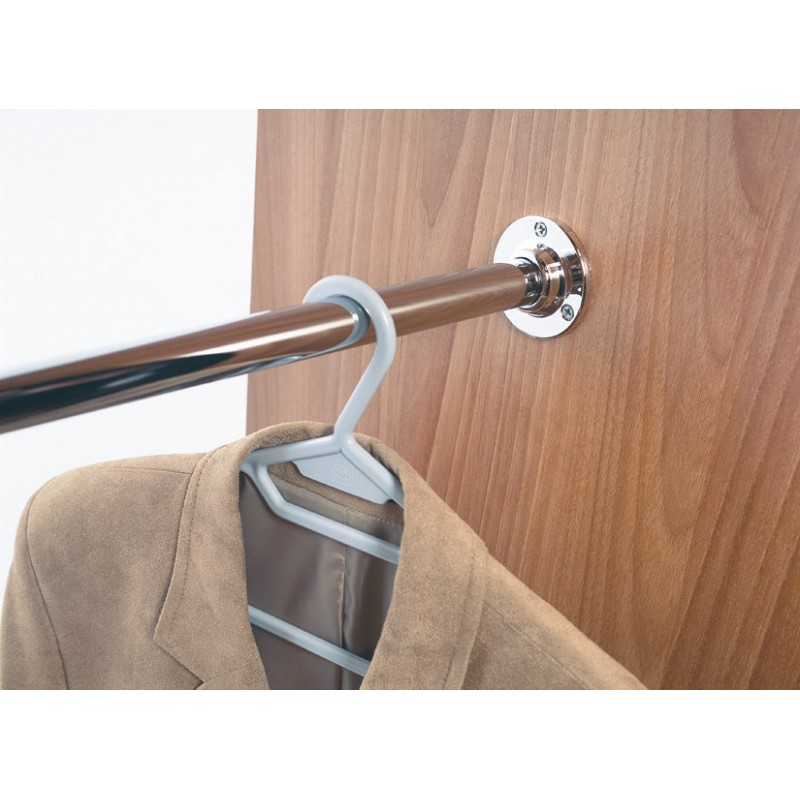 Round Wardrobe Rail dia.25mm - 0.6-1.2m