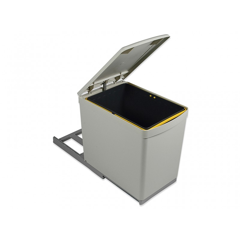 Pull Out Kitchen Waste Recycle Dust Bin 16L for 300mm cabinet