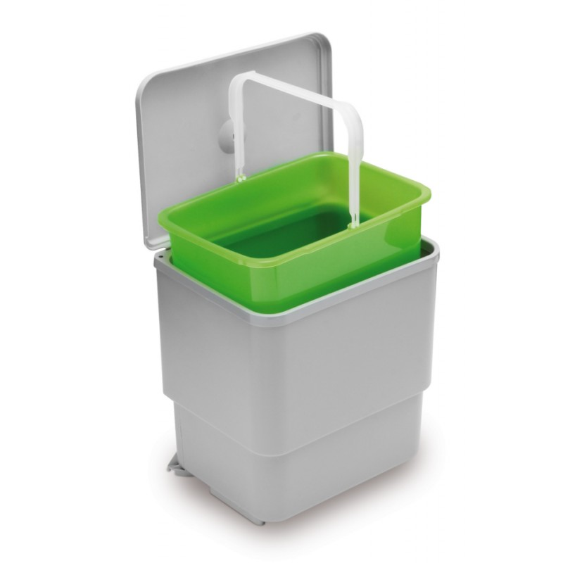 Swing Out / Pull Out Kitchen Waste Bin 16L