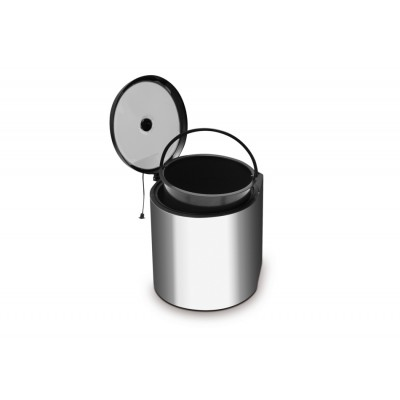 Swing Out / Pull Out Kitchen Waste Bin 11L Stainless Steel